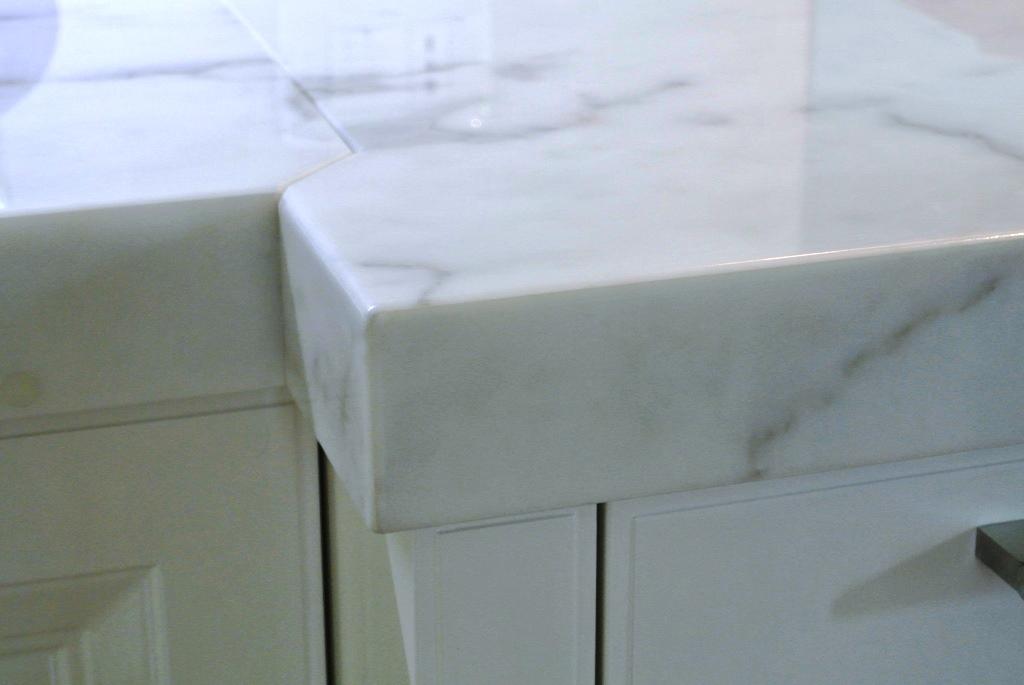 Piano cucina in marmo Carrara